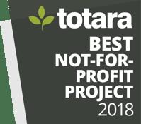 Totara Awards Badges_2018_Best Not-for-profit
